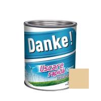 Vopsea alchidica pentru lemn / metal, Danke, exterior, bej 0.75 L