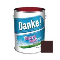 Vopsea alchidica pentru lemn / metal, Danke, exterior, maro ciocolatiu, 4 L