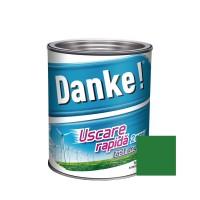Vopsea alchidica pentru lemn / metal, Danke, exterior, verde deschis 0.75 L