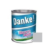 Vopsea alchidica pentru lemn / metal, Danke, exterior, gri luminos, 2.5 L