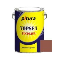 Vopsea alchidica pentru lemn / metal, Pitura, interior / exterior, maro deschis V53731, 4 L