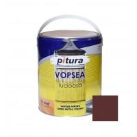 Vopsea alchidica pentru lemn / metal, Pitura, interior / exterior, maro inchis V53771, 4 L
