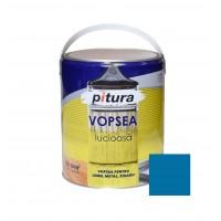 Vopsea alchidica pentru lemn / metal, Pitura, interior / exterior, albastru V53620, 4 L