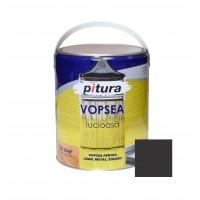 Vopsea alchidica pentru lemn / metal, Pitura, interior / exterior, negru, V53900, 4 L