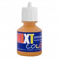 Pigment Mixt Color, ocru 1004, pentru vopsea lavabila, 25 ml