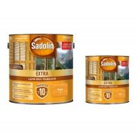 Lac / lazura pentru lemn, Sadolin Extra, brad, interior / exterior, 2.5 L + 0.75 L