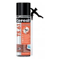 Spuma poliuretanica pentru montaj, cu aplicare manuala, Ceresit TS 61, 500 ml