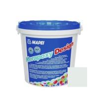 Chit de rosturi gresie si faianta epoxidic Kerapoxy Design, 710 ice white, interior / exterior, 3 kg