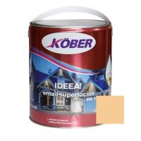 Vopsea alchidica pentru lemn / metal, Kober Ideea, interior / exterior, bej E51420, 4 L