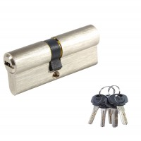 Cilindru siguranta Yale, nichelat, 5 chei, 35 x 40 mm