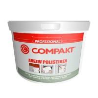 Adeziv pentru placi si profile decorative din polistiren Compakt, interior / exterior, 5 kg