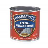 Grund pentru metal Hammerite, interior / exterior, rosu caramiziu, 0.5 L