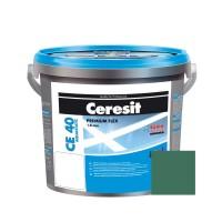 Chit de rosturi gresie si faianta Ceresit CE 40, olive, interior / exterior, 5 kg
