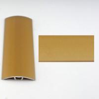 Profil aluminiu de trecere, diferenta de nivel, Davo Pro auriu, 30 mm, 0.9 m