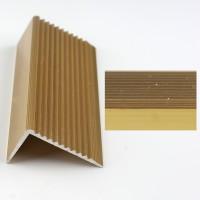 Profil aluminiu pentru treapta, 2394 auriu, 3 m