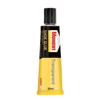 Adeziv pentru pantofi, Moment Shoe Glue, transparent, 50 ml