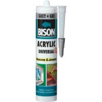 Etansant acrilic Bison Universal, gri, interior / exterior, 300 ml