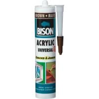 Etansant acrilic Bison Universal, maro, interior / exterior, 300 ml