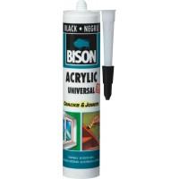 Etansant acrilic Bison Universal, negru, interior / exterior, 300 ml