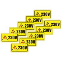 Indicator semnalizare Priza 220/ 230 V, PVC, 10 x 5 cm, set 10 bucati