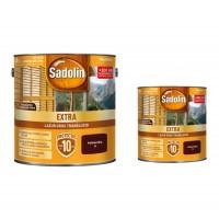 Lac / lazura pentru lemn, Sadolin Extra, palisandru, interior / exterior, 2.5 L + 0.75 L