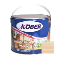 Lac / lazura subtire 2 in 1 pentru lemn, Kober, incolor, interior / exterior, 2.5 L