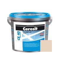 Chit de rosturi gresie si faianta Ceresit CE 40, natura, interior / exterior, 2 kg