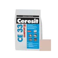 Chit de rosturi gresie si faianta Ceresit CE 33, bahama bej, interior, 2 kg