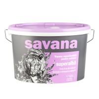 Vopsea superlavabila exterior Savana, alba, 8.5 L