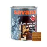 Lac pentru lemn Savana cu Teflon, stejar, interior / exterior, 0.75 L