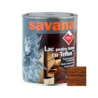Lac pentru lemn Savana cu Teflon, tec, interior / exterior, 0.75 L