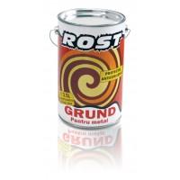 Grund pentru metal Rost, interior / exterior, rosu oxid, 3.5 L