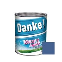 Vopsea alchidica pentru lemn / metal, Danke, exterior, albastra, 2.5 L