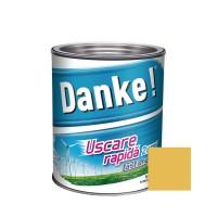 Vopsea alchidica pentru lemn / metal, Danke, exterior, galben, 2.5 L