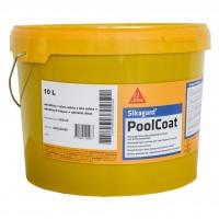 Vopsea pentru piscina Sika Sikagard PoolCoat, albastru adriatic, interior / exterior, 13.2 kg