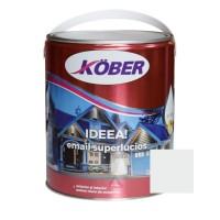 Vopsea alchidica pentru lemn / metal, Kober Ideea, interior / exterior, gri deschis E51810, 4 L