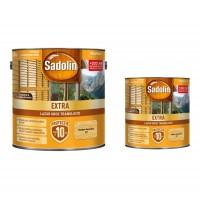 Lac / lazura pentru lemn, Sadolin Extra, stejar deschis , interior / exterior, 2.5 L + 0.75 L