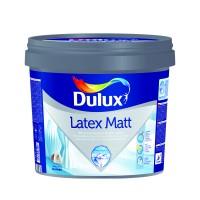 Vopsea lavabila, interior, alba, Dulux Latex Matt, 3 L