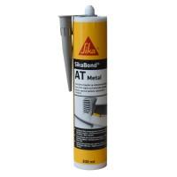 Adeziv pentru metal, interior / exterior, Sika SikaBond AT Metal, gri, 300 ml