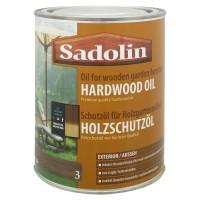 Lac pentru lemn Sadolin Hardwood Oil, tec, exterior, 0.75 L
