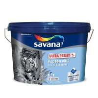 Vopsea lavabila interior, Savana Ultrarezist cu Teflon, antimucegai, alba, 4 L