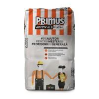 Adeziv pentru piatra naturala si caramizi de sticla, alb, Primus ADX15, 25 kg