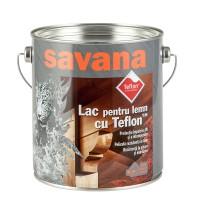 Lac pentru lemn Savana cu Teflon, pin, interior / exterior, 2.5 L