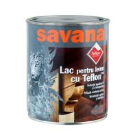 Lac pentru lemn Savana cu Teflon, wenge, interior / exterior, 0.75 L