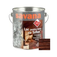 Lac pentru lemn Savana cu Teflon, wenge, interior / exterior, 2.5 L