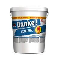 Vopsea lavabila exterior Danke, alba, 25 L
