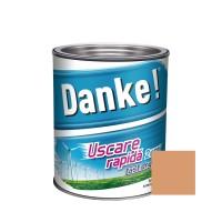 Vopsea alchidica pentru lemn / metal, Danke, exterior, somon, 2.5 L