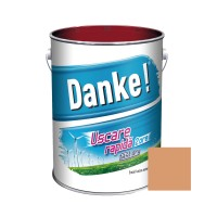 Vopsea alchidica pentru lemn / metal, Danke, exterior, somon, 4 L