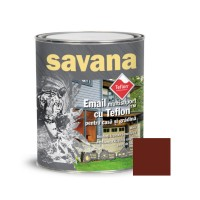 Vopsea acrilica pentru lemn / metal, Savana, interior / exterior, pe baza de apa, maro, 0.75 L