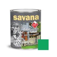 Vopsea acrilica pentru lemn / metal, Savana, interior / exterior, pe baza de apa, verde primavara, 0.75 L